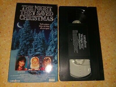 The Night They Saved Christmas (VHS, 1995) Jaclyn Smith