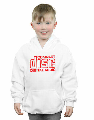 Compact Disc Boys Red Logo Hoodie