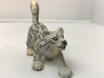 SAFARI LTD SAF237529 SNOW LEOPARD WILD SAFARI WILDLIFE