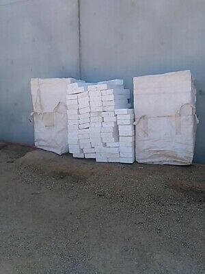 polystyrene foam blocks used. White    approx 1000mmx250mmx150mm    $5 each