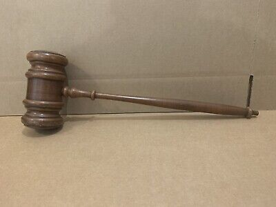 Gavel Block Judge Lawyer Auction Wooden Hammer Court Store Display Funny LARGE