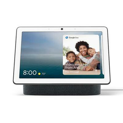 Google Home Nest Hub Max with Built-in Google Assistant - Charcoal (GA00639-US)