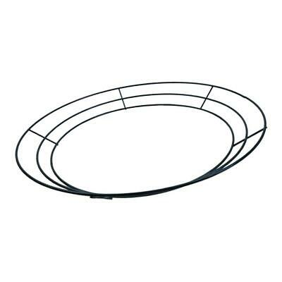 Wire Wreath Frame Christmas Holiday New Year Metal Wire Ring Decoration 14''