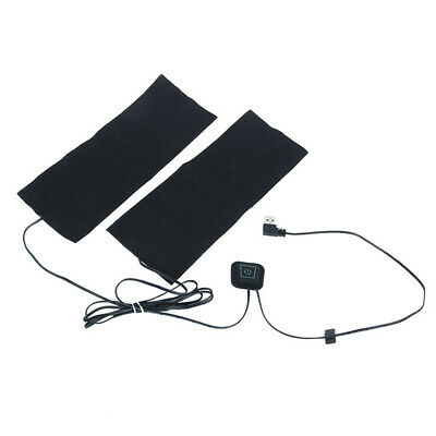 1xUSB Chargeable Thermal Pants Waistcoat Clothing Electric Heating Pads Warm Mat