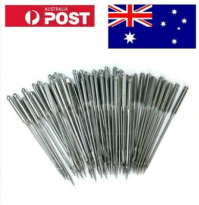 50PCS Home Sewing Machine Needles 11/75,12/80,14/90,16/100,18/110 for Singer