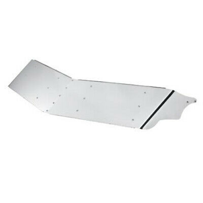 "14"" Stainless Steel Peterbilt Drop Visor - Ultra Cabs 377, 378 and 379"
