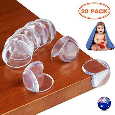 1-20PCS Table Corner Cushion Soft Protectors Baby Child Safety Guard Desk Edge