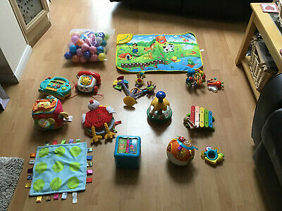 Job Lot Of Baby's Toys (15 Items Everything Pictured)