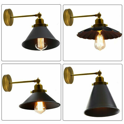 Vintage Retro Industrial Adjustable Rustic Wall Sconce Porch Light Lamps