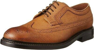 Clarks 'Edward Limit' Mens Tan interest Leather Lace Up Shoes Size UK 12 G