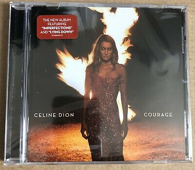 CELINE DION - COURAGE (Brand New CD)