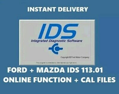LATEST Ford+Mazda IDS 2019 113.01 Online Diagnostic Software NATIVE INSTALL