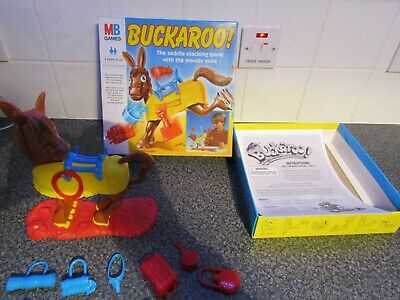 Buckaroo Board Game by MB Games , Complete, Great Condition