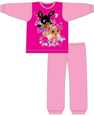 Girls Infant Kids Bing Bunny Pyjamas Size Age 18 Months-5 Years PJs Sula NEW