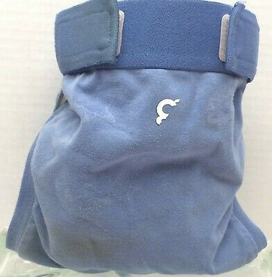 Gdiapers Medium Navy Blue Gpants & Pouch