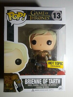 🔥Funko Pop! Brienne Of Tarth Bloody Hot Topic Exclusive Game of Thrones Rare