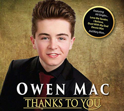 Owen Mac-Thanks To You CD NEW