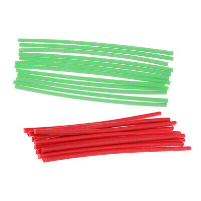 36pcs Fly Tying Materials Foam Cylinder Parachute Post Bodies 3 Colors 16cm