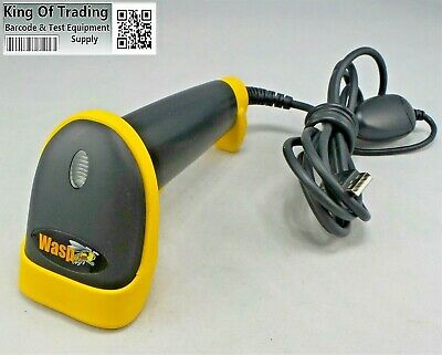 Wasp WLR8950 Handheld 1D Durable Barcode Scanner w/ USB Cable