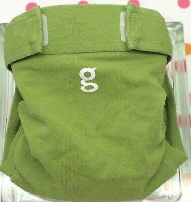 Gdiapers Medium Guppy Green Gpants