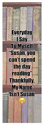 Gift Bookmark Novelty Fun Quote
