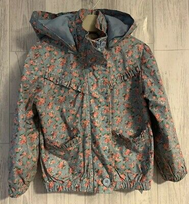 Girls Age 4-5 Years - Marks & Spencer's Lightweight Waterproof Coat Ditzy Floral