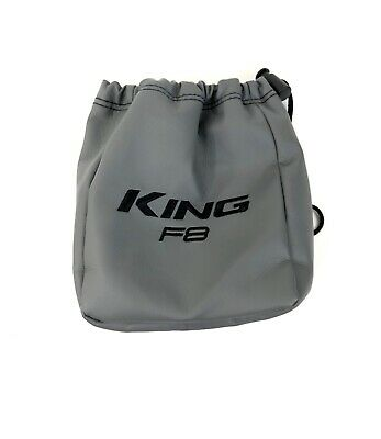 """King F8 Cobra Small Golf Valuables Cinch Close Tote Bag Size 7x7"""""""