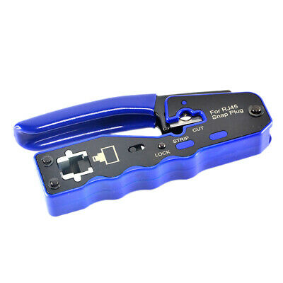 HY-670 8P8C RJ45 Cable Crimper Ethernet Perforated Connector Crimping Tools O7Z5