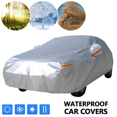 3 Layer Full Car SUV Covers Outdoor Waterproof UV Proof Size YXL 510*200*180 CM