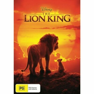 The Lion King : 2019 : Australian Stock :  NEW DVD : ##Sunday Special Price##
