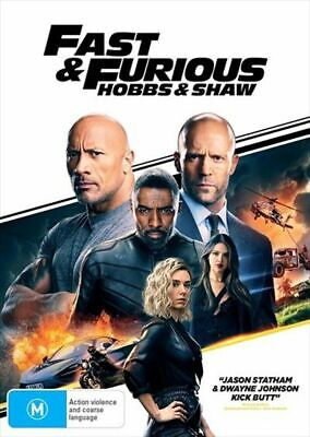 Fast & Furious : Hobbs & And Shaw : Aus Stock : NEW DVD : Sunday Only Special