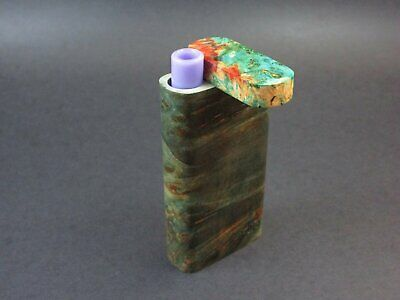 Galaxy Burl Dugout #217 - Futo Model GX - Stabilized Burl  - One Hitter Box - Nu