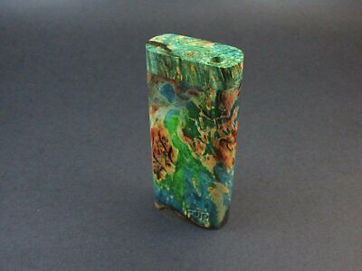 Galaxy Burl Dugout #216 - Futo Model M  - Stabilized Burl - One Hitter Box - Num