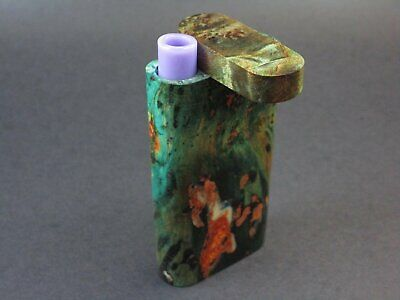 Galaxy Burl Dugout #218 - Futo Model GX - Stabilized Burl  - One Hitter Box - Nu