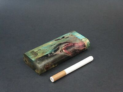 Ant Wood Dugout #201 - Futo Model M - Stabilized Aspen - One Hitter Box - Number