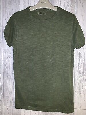 Boys Age 10 (9-10 Years) Next Green T Shirt