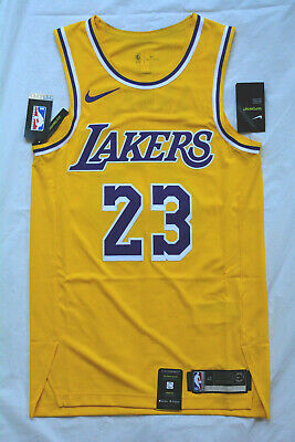LEBRON JAMES Los Angeles Lakers AUTHENTIC PRO CUT New SMALL 40 NIKE NBA Jersey