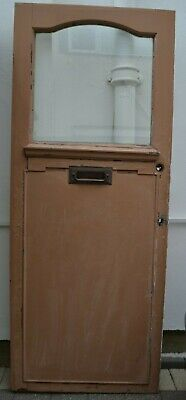 810 x 2024mm. Front door 1920s (potential stained glass) R975b DELIVERY OPTIONS!