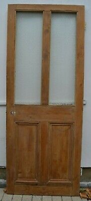 (potentially leaded light stained glass) internal victorian style door R976.