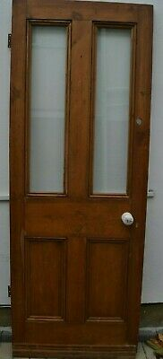 (potentially leaded light stained glass) internal victorian style door R978.