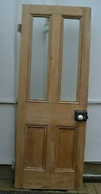 (potentially leaded light stained glass) internal victorian style door R983.