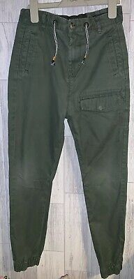 Boys Age 10 (9-10 Years ) Next Green Cargo Trousers