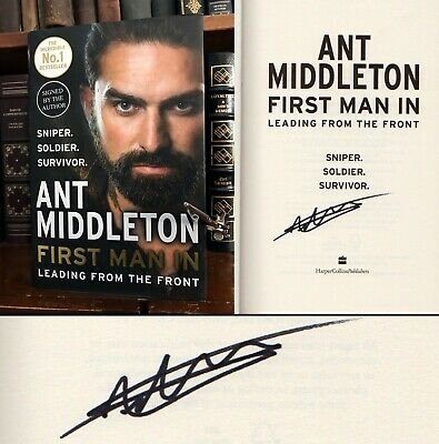 First Man In HAND SIGNED by Ant Middleton! SAS: Who Dares Wins! Mount Everest!