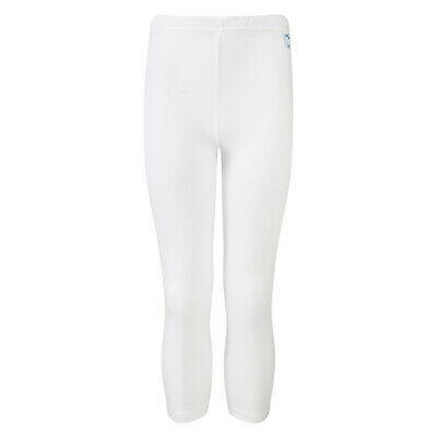 BNWT children's white thermal wicking  base layer long pant,size age 9/10 years