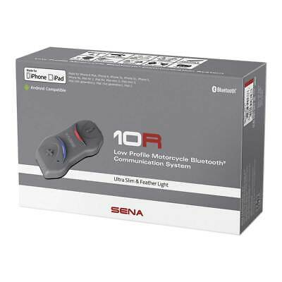 Sena 10R Low Profile Motorcycle Motorbike Communication System FM