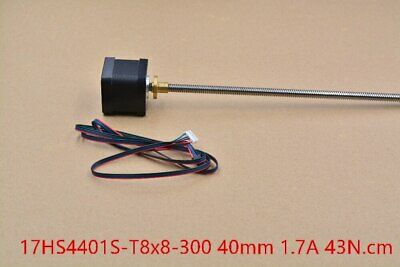 3d print motor nema17 stepper motor with T8 screw lead 8mm 300mm 42 motor