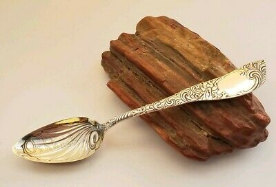 RARE Vtg. Antique Sterling Silver Souvenir Spoon Oshkosh WI R. Wallace Ivanhoe