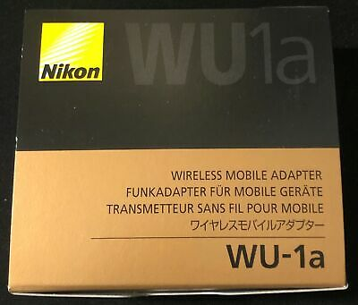 Nikon Camera Accessories Wireless Mobile Adapter WU-1a from Japan [New] #A122