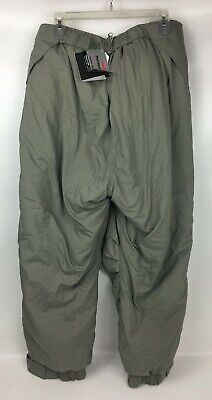 New ECWCS Gen III Level 7 L7 ECW Extreme Cold Weather Trousers Pants Large Reg