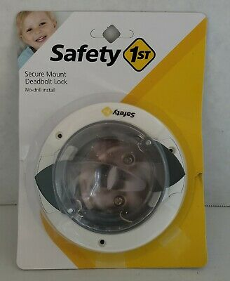 Safety 1st Secure Mount Deadbolt Lock **BRAND NEW**